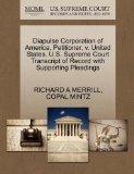 Diapulse Corporation of America, Petitioner, v. United States. U.S. Supreme Court Transcript...