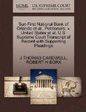 Sun First National Bank of Orlando et al., Petitioners, v. United States et al. U.S. Supreme...