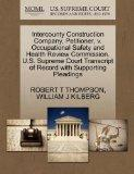 Intercounty Construction Company, Petitioner, v. Occupational Safety and Health Review Commi...
