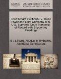 Scott Smart, Petitioner, v. Texas Power and Light Company et al. U.S. Supreme Court Transcri...
