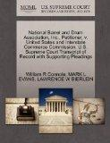 National Barrel and Drum Association, Inc., Petitioner, v. United States and Interstate Comm...