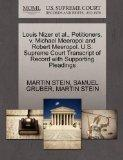 Louis Nizer et al., Petitioners, v. Michael Meeropol and Robert Meeropol. U.S. Supreme Court...
