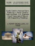 South Carolina National Bank, Petitioner, v. North Carolina National Bank. U.S. Supreme Cour...