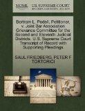 Bertram L. Podell, Petitioner, v. Joint Bar Association Grievance Committee for the Second a...