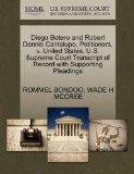 Diego Botero and Robert Dennis Cantalupo, Petitioners, v. United States. U.S. Supreme Court ...