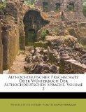 Althochdeutscher Prachschatz Oder Wrterbuch Der Althochdeutschen Sprache, Volume 2 (Italian ...