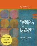 Cengage Advantage Books: Essentials of Statistics for the Behavioral Sciences