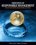 Principles of Responsible Management: Global Sustainability, Responsibility, and Ethics