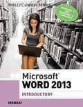 Microsoft Word 2013: Introductory (Shelly Cashman Series)