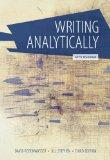 Writing Analytically With Readings