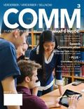 COMM 3 (with CourseMate with Interactive Video Activities, SpeechBuilder(TM) Express Printed...