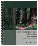 General Biology Laboratory Manual for Science Majors (BIOL 1406 LAB Custom Edition for North...