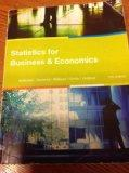 Statistics for Business & Economics 12th Edition