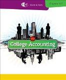 Bundle: College Accounting, Chapters 1-27, 21st + CengageNOW with eBook Printed Access Card