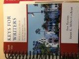Keys for Writers with exercise book special edition for San Diego State University