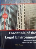 Essentials of the Legal Environment