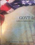 GOVT 5 California Student Edition 5th Edition