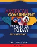 Bundle: American Government and Politics Today: Essentials 2013 - 2014 Edition, 17th + MindT...