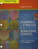 Bundle: Cengage Advantage Books: Essentials of Statistics for the Behavioral Sciences, 8th +...
