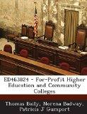 ED463824 - For-Profit Higher Education and Community Colleges