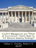 Conflict Management and