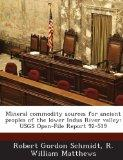 Mineral commodity sources for ancient peoples of the lower Indus River valley: USGS Open-Fil...