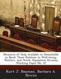 Measures of Help Available to Households in Need : Their Relation to Well-Being, Welfare, an...