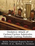 Oxidative Attack of Carbon/Carbon Substrates Through Coating Pinholes