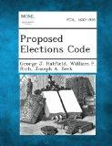 Proposed Elections Code