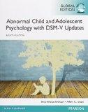 Abnormal Child and Adolescent Psychology 8e By Rita Wicks-nelson,...
