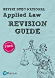 Revise BTEC National Applied Law Revision Guide (REVISE BTEC Nationals in Applied Law)
