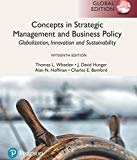 Concepts In Strategic Management And Business Policy: Globalization, Innovation And Sustaina...