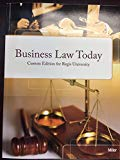 Business Law Today - Custom Edition for Regis University