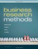 Business Research Methods (No Textbook, Access Card Only) William G. Zikmund 9th Editoin