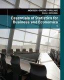Bundle: Essentials of Statistics for Business and Economics, 7th + CengageNOW(TM) Printed Ac...