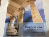 Business law: Texts and Cases Custom edition used at Brooklyn College and elsewhere