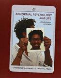 Bundle: Abnormal Psychology and Life: A Dimensional Approach, 2nd + MindTap Psychology Print...