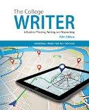 Bundle: The College Writer: A Guide to Thinking, Writing, and Researching, 5th + InSite(TM) ...
