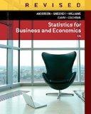 Bundle: Statistics for Business & Economics, Revised, 12th + MindTap(TM) Business Statistics...