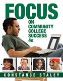 Bundle: FOCUS on Community College Success, 4th + MindTap College Success, 1 term (6 months)...
