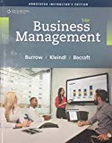 Business Management - Annotated Instructor's Edition