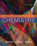 Bundle: Principles of Modern Chemistry, 8th + Essential Algebra for Chemistry Students, 2nd
