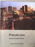 Precalculus University of Michigan-Flint Edition