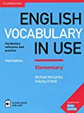 English Vocabulary in Use Elementary Book with Answers and Enhanced eBook: Vocabulary Refere...