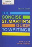 Concise St. Martin's Guide to Writing 7e & LaunchPad Solo for The Concise St. Martin's Guide...