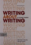 Writing about Writing & Writer's Help 2.0 for the Hacker Handbooks (Twenty-Four Month Access)