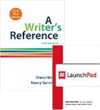 Bundle: Writer's Reference 8e with 2016 MLA Update & LaunchPad for A Writer's Reference 8e (...
