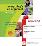 Everything's an Argument 7e with 2016 MLA Update & LaunchPad for Everything's an Argument wi...