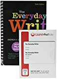 The Everyday Writer (Spiral) with 2016 MLA Update 6e & LaunchPad Solo for The Everyday Write...