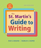 The St. Martin's Guide to Writing Short Edition with 2016 MLA Update